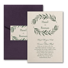 Love Vines - Pocket Invitation