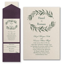 Pocket Invitation: Love Vines