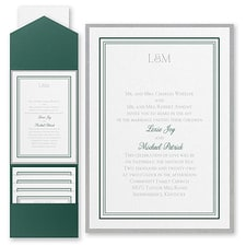 Border invitation: Elegant Borders