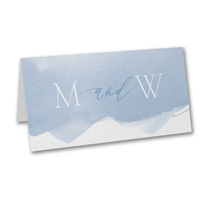 Picturesque Watercolor - Place Card