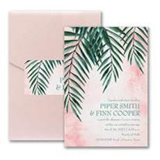 Artful Greenery - Modern Invitation