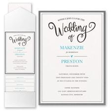 Pocket Invitation: Wedding Whimsy