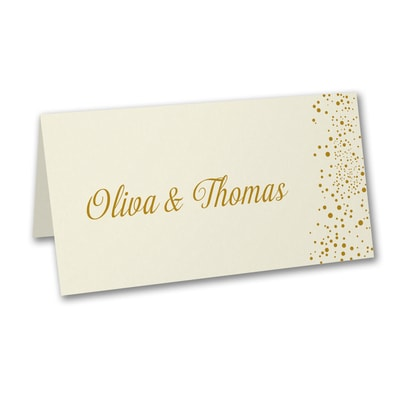 Champagne Delight - Place Card