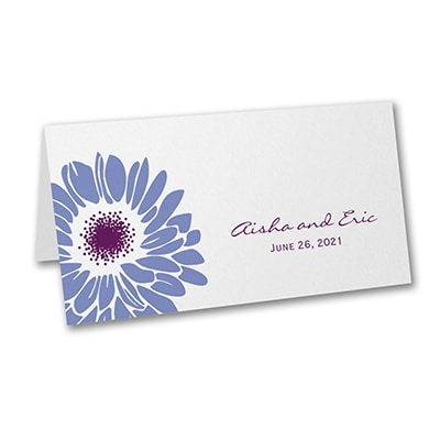 Dizzy Daisies - Place Card