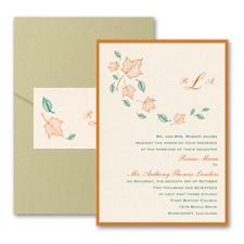 Maple Breeze - Layered Pocket Invitation