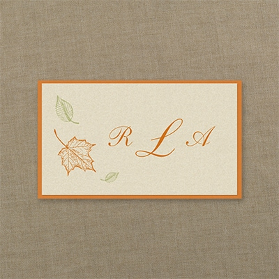 Maple Breeze - Layered Tab Card