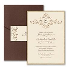 French Floret - Wedding Invitation