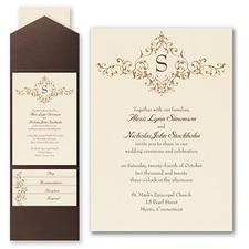 Pocket Invitation: French Floret