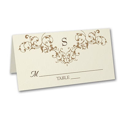 French Floret - Place Card
