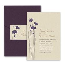 Blooming Blossoms - Pocket Invitation