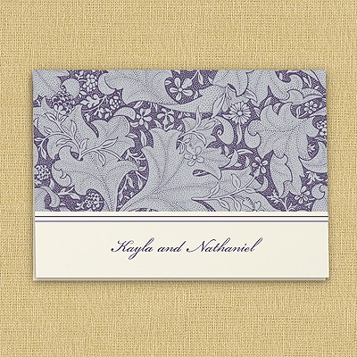 Tapestry Pattern - Thank You Note