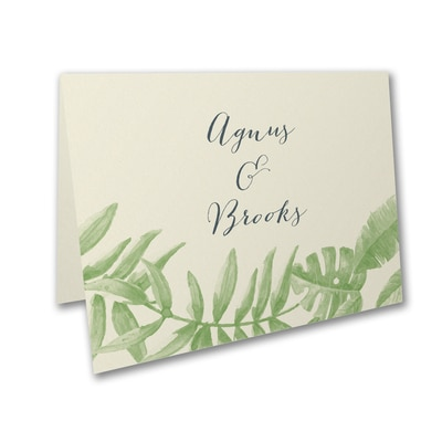 Jungle Love - Thank You Card and Envelope