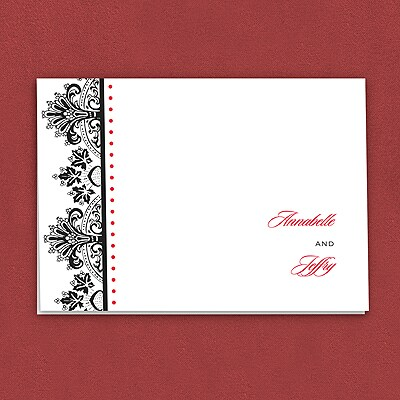 Regal Flourishes - Thank You Note