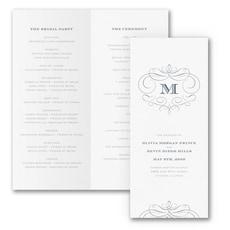 Passionate Monogram - Monogram Invitation