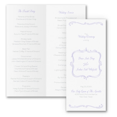Whimsical Elegance - Program