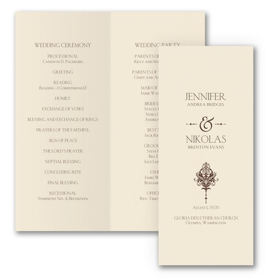 Delightful Damask - Program