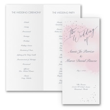 Champagne Wedding - Program