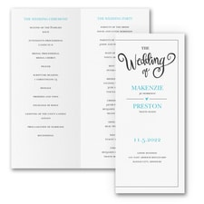 Wedding Whimsy - Program