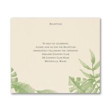Jungle Love - Reception Card