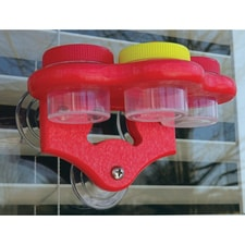 Triple Window DOTS Hummingbird Feeder
