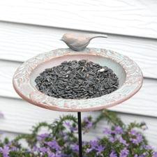 Chickadee Garden Feeder