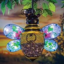 Solar Bee Birdfeeder