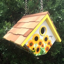 PLACES TO RAISE YOUNG<br />Sunflower Wren Nesting Box