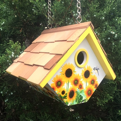 Sunflower Wren Nesting Box