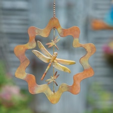 Dragonfly Copper Ornament