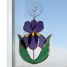 Iris Suncatcher