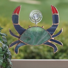 Blue Crab Suncatcher
