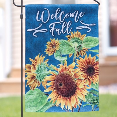 Beautiful Sunflower Garden Flag
