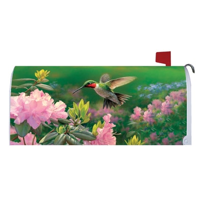 Hummingbird Mailbox Cover
