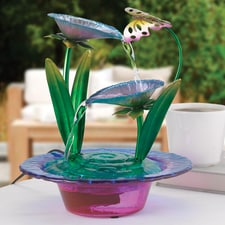 Radiant Lily Fountain