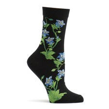 Gentian Socks - August