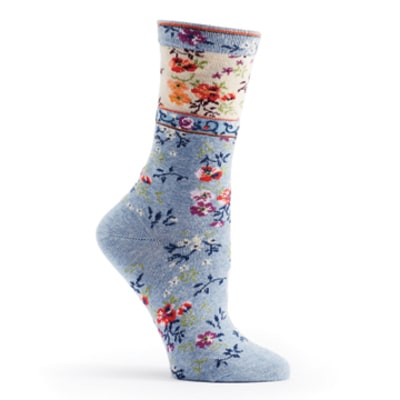 Pansies Socks - October