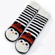 Penguin Slipper Socks