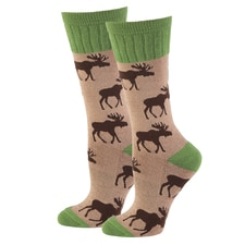 Moose Wildlife Socks