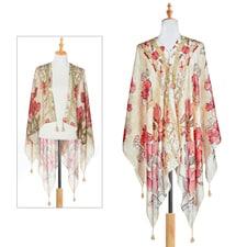 Floral Kimono Scarf