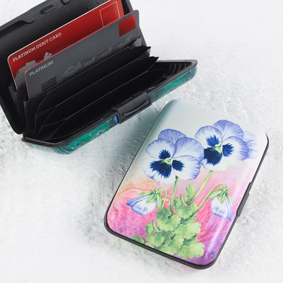 Pansy Armored Wallet