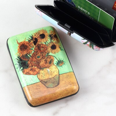 Sunflower Bloom Armored Wallet