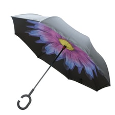Pink/Blue Flower Umbrella