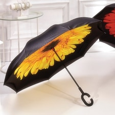Yellow Inverted Umbrella