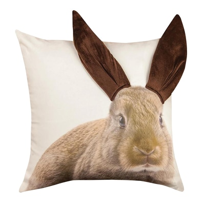 Brown Bunny Pillow