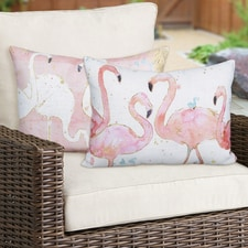 Flamingo Fever Pillow