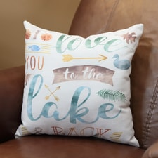 Lake Love Pillow