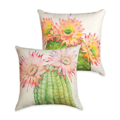 Desert Blossoms Pillow