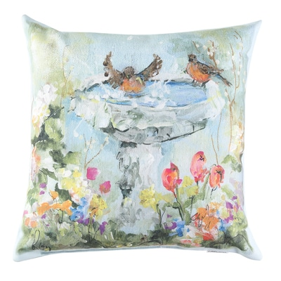 Bird Bath Pillow