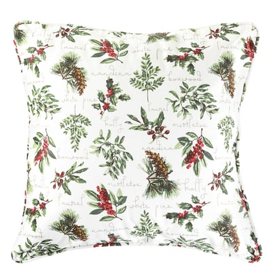 Winter Botanical Pillow