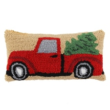 Vintage Truck Accent Pillow